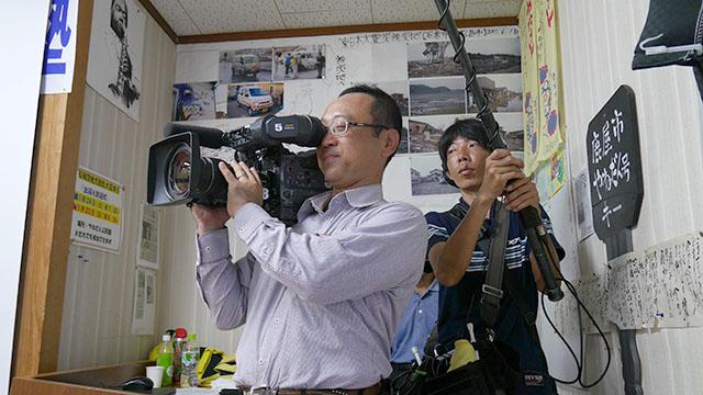 MBC南日本放送取材